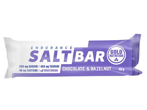BARRA SALT BAR GOLDNUTRITION CHOCOLATE AVELÃ 40 G image number 0