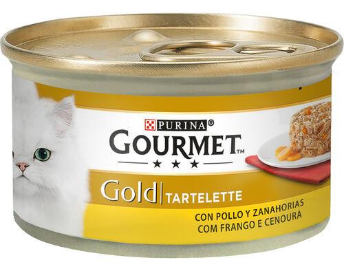 COMIDA HÚMIDA GATO GOURMET GOLD TARTELETE FR 85G image number 0