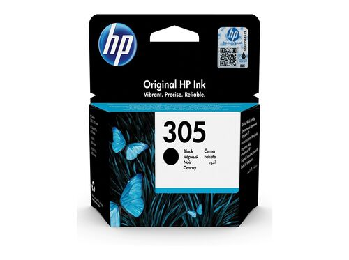 TINTEIRO ORIGINAL HP 305 PRETO 3YM61AE image number 1