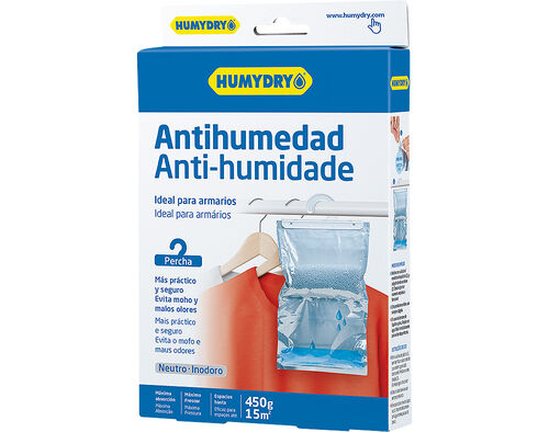 CABIDE ANTI-HUMIDADE HUMYDRY INODORO 450GR image number 0