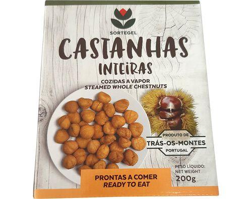 CASTANHAS PRÉ COZIDAS 200G image number 0