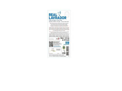 VINHO BRANCO REAL LAVRADOR ALENTEJO 0.75L image number 1