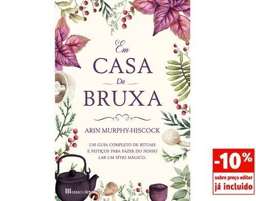 LIVRO EM CASA DE BRUXA ARIN MURPHY-HISCOCK image number 0
