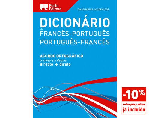 DICION ACADEMICO PORTO EDITORA FRANCES-PORT/PORT-FRANCES image number 0
