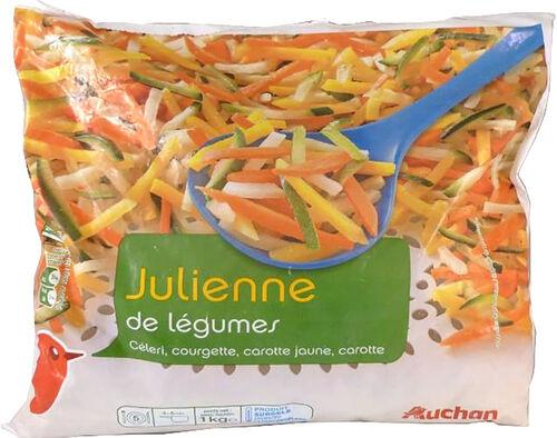 JULIANA DE LEGUMES AUCHAN ULTRACONGELADA 1 KG image number 0