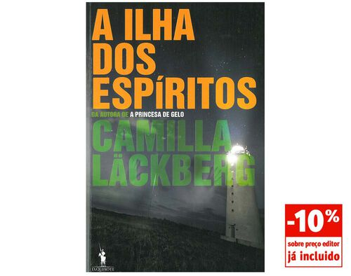 LIVRO A ILHA DOS ESPIRITOS CAMILLA LACKBERG image number 0