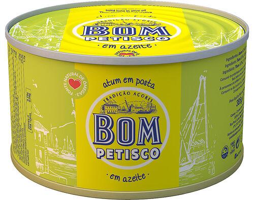 ATUM BOM PETISCO POSTA EM AZEITE 385G image number 0