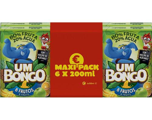 NECTAR UM BONGO 8 FRUTOS 6X0 20 L image number 0
