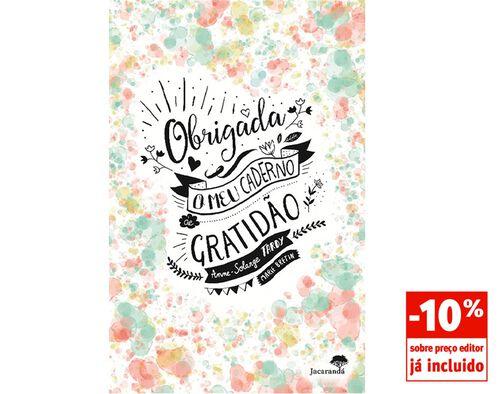 LIVRO OBRIGADA - O MEU CADERNO DE GRATIDÃO DE ANNE TARDY image number 0