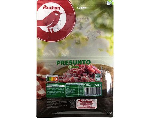 PRESUNTO AUCHAN EM CUBOS 2X75G image number 0