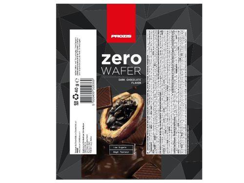 WAFER PROZIS ZERO PROTEICA CHOCOLATE PRETO 40G image number 1