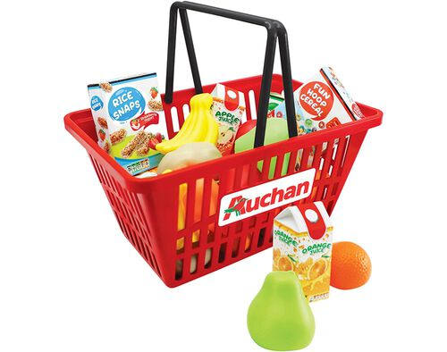 """CESTO SUPERMERCADO ONE TWO FUN """"AUCHAN"""" image number 0"""