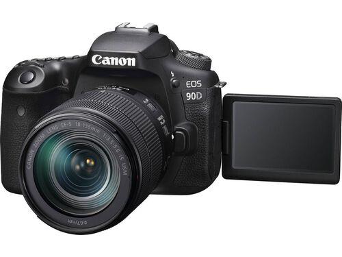MÁQUINA FOTOGRÁFICA REFLEX CANON EOS 90D + EF-S 18-135MM F/3.5-5.6 IS USM image number 2