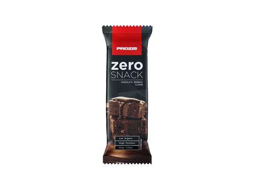 BARRA PROZIS ZERO SNACK BROWNIE CHOCOLATE 35G image number 0