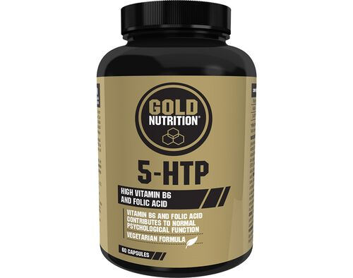 SUPLEMENTO GOLDNUTRITION 5-HTP 60CAPS image number 0