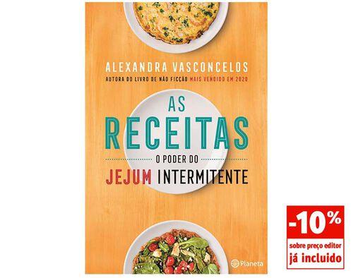 LIVRO AS RECEITAS - O PODER DO JEJUM INTERMITENTE DE ALEXANDRA VASCONCELOS image number 0