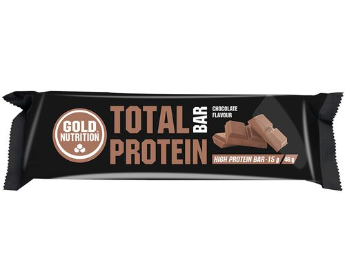 BARRA GOLDNUTRITION TOTAL PROTEIN CHOCOLATE 46G image number 0