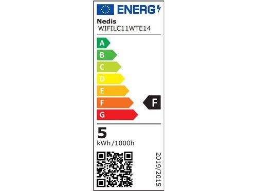 LÂMPADA NEDIS SMARTLIFE E14 4 5 W RGB image number 5