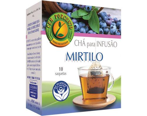 CHÁ CEM PORCENTO MIRTILO 10 SAQ image number 0