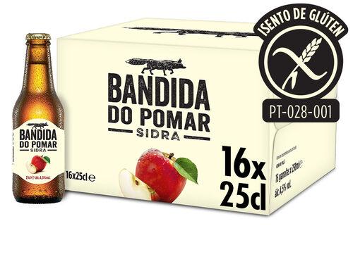SIDRA BANDIDA DO POMAR 16X0.25L image number 1
