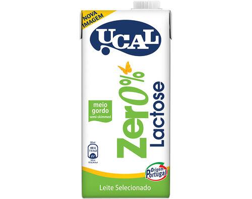 LEITE UCAL MEIO GORDO 0% LACTOSE 1L image number 0