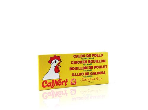 CALDO CALNORT GALINHA 12 CUBOS 120G image number 0