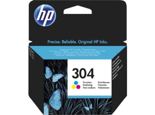 TINTEIRO ORIGINAL HP TRI 304 N9K05AE#301 image number 0