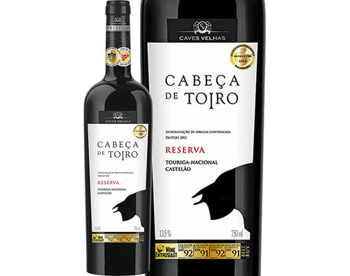 VINHO CABEÇA DE TOIRO TINTO RESERVA TEJO 0.75L image number 0