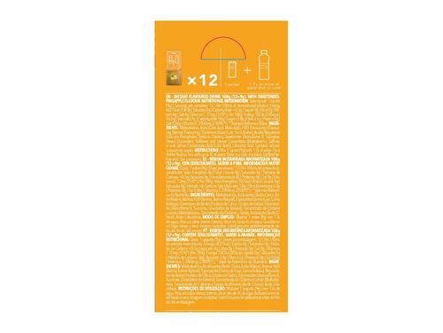 BEBIDA INSTANTÂNEA H2O PROZIS ANANÁS (12X9G) 108G image number 1