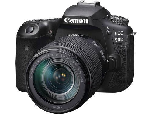 MÁQUINA FOTOGRÁFICA REFLEX CANON EOS 90D + EF-S 18-135MM F/3.5-5.6 IS USM image number 0
