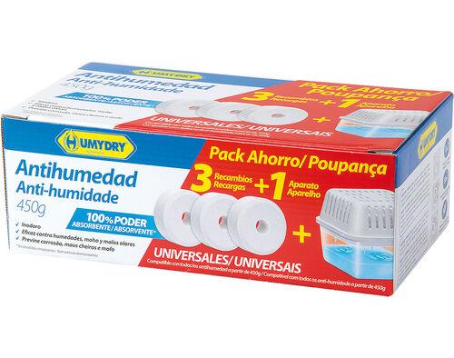 ANTI HUMIDADE HUMYDRY APARELHO+3 RECARGAS 450 G image number 0