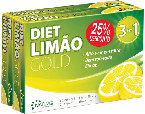 SUPLEMENTO DIETLIMAO GOLD PACK DUO 120 COMPRIMIDOS image number 0