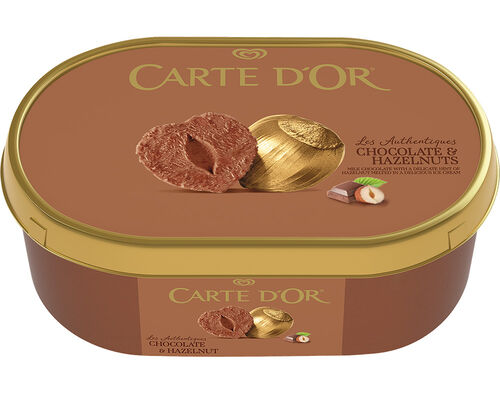 GELADO CARTE D'OR CHOCOLATE/AVELÃ 1000 ML image number 0