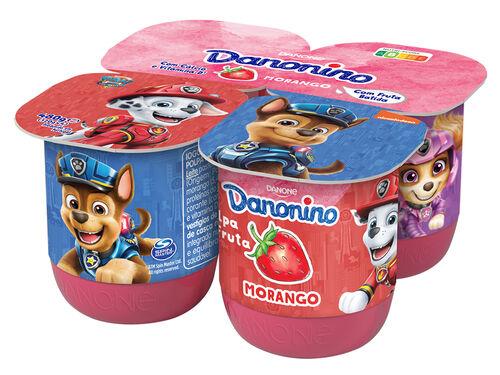 IOGURTE INFANTIL DANONINO MAXI MORANGO 4X120G image number 0