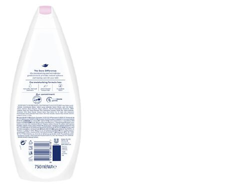 GEL DE BANHO DOVE PEONY AND ROSE 750ML image number 1