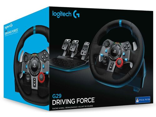 VOLANTE LOGITECH G29 RACING WHEEL DRIVING FORCE image number 3