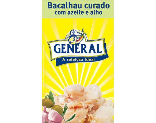 BACALHAU GENERAL AZEITE E ALHO 120G image number 0
