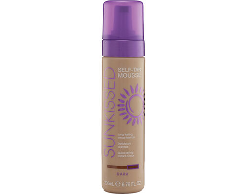 MOUSSE BRONZEADOR SUNKISSED INST.ESCURA 200ML image number 0