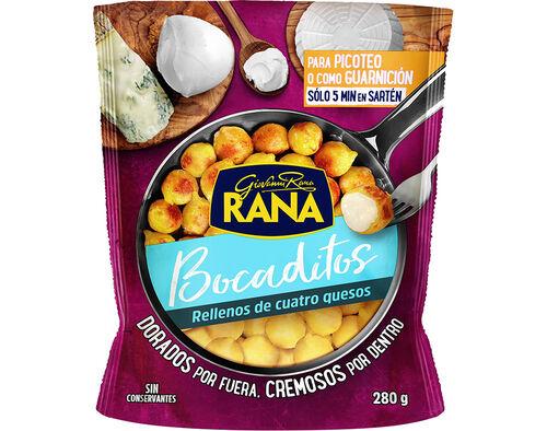 GNOCCHI RANA RECHEADOS COM QUEIJOS ITALIANOS 280G image number 0