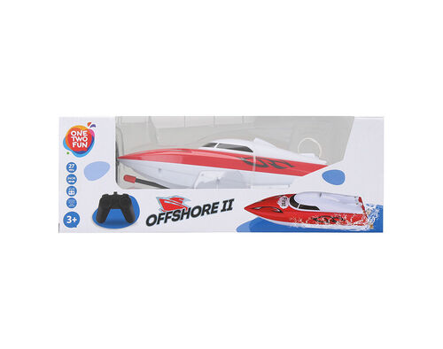 BARCO ONE TWO FUN SPEED BOAT 24X7X8 CM image number 2