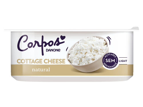 COTTAGE CORPOS DANONE CHEESE LIGHT 180G image number 0