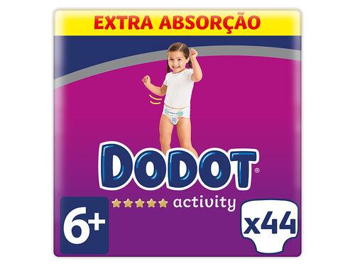 FRALDA DODOT ACTIVITY EXTRA T6+ 44 UN image number 0