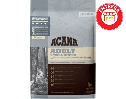 ALIMENTO SECO CÃO ACANA HERITAGE ADULT SMALL BREED 6KG image number 0