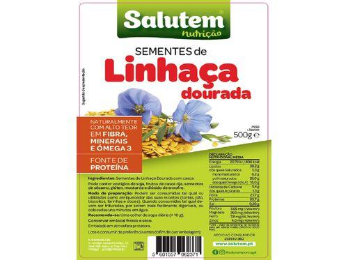 SEMENTES SALUTEM LINHAÇA DOURADA 500G image number 1