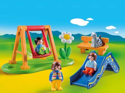 1.2.3 PARQUE INFANTIL PLAYMOBIL image number 1