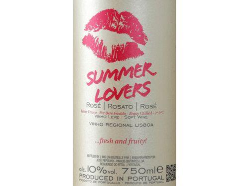 VINHO ROSÉ SUMMER LOVERS LISBOA 0.75 L image number 2