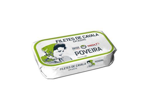 FILETE CAVALA POVEIRA EM AZEITE 120 G image number 1