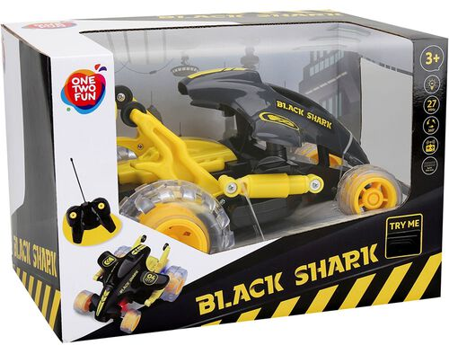 VEICULO ONE TWO FUN BLACK SHARK image number 0