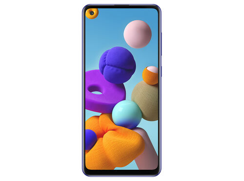 "SMARTPHONE SAMSUNG GALAXY A21S 4GB 128GB 6.55""AZUL image number 1"