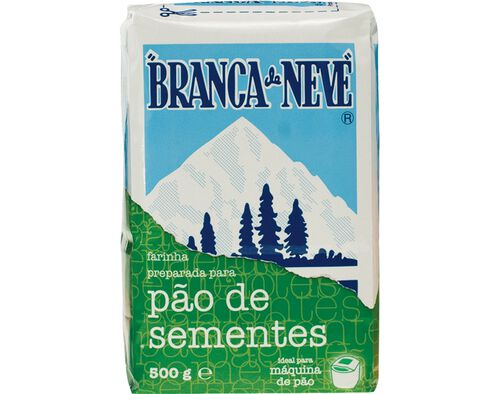 FARINHA BRANCA DE NEVE PREP.P/PAO SEMENTES 500G image number 0